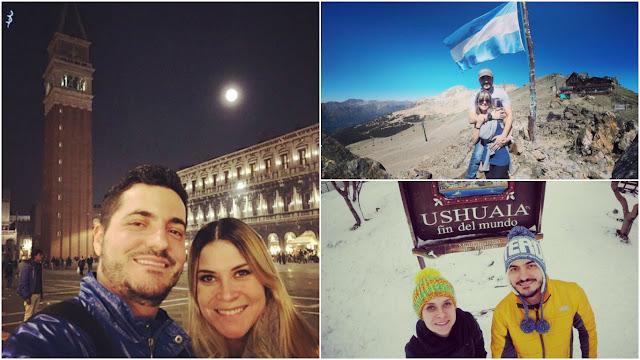 Casais Viajantes para seguir no Instagram