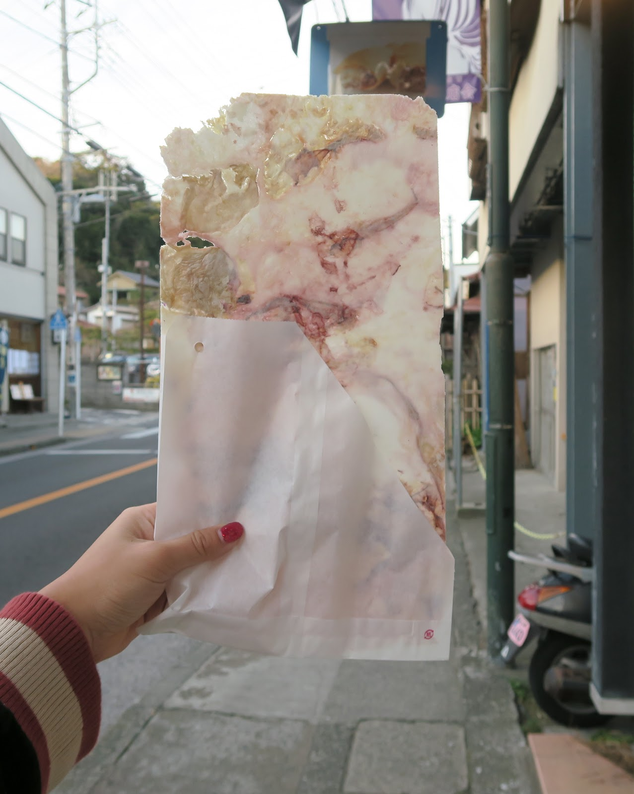 oishii octopus kanagawa cracker