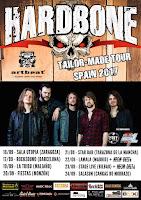 Conciertos de Hardbone en España