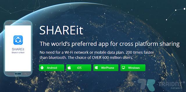 تحديث SHAREit على ويندوز 10 موبايل يجلب دعم الارسال عبر الواي فاي بشكل مباشر 2016