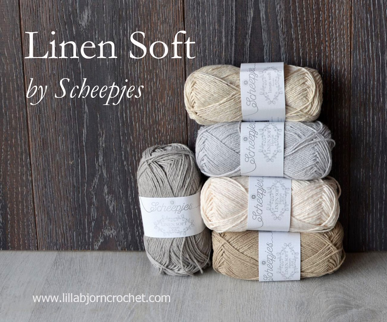 Linen Soft yarn by Scheepjes - review by LillaBjornCrochet