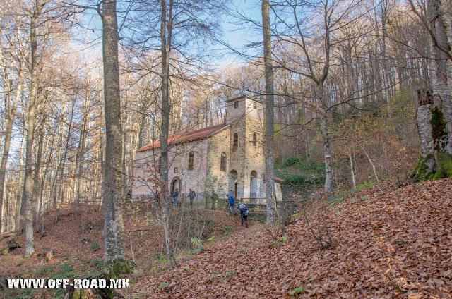 Св. Ана во близина  на село Маловиште