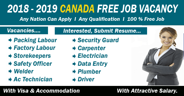 Canada Urgent Staff Recruitment     Click and apply Now