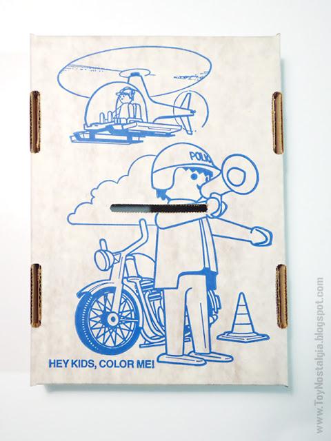 Playmobil Schaper Deluxe Set bandeja interior dibujo para colorear color tray