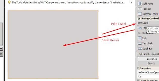CaraMudah Mengganti Gambar Form Background pada Java Netbeans