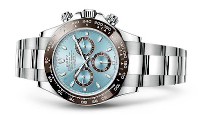 Rolex Cosmograph Daytona with Ice Blue Dial