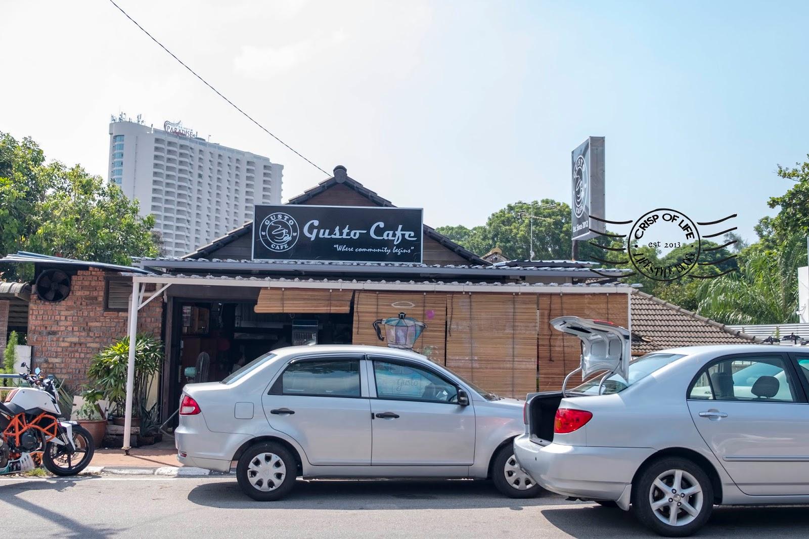 Gusto Cafe @ Jalan Sungai Kelian Tanjung Bungah, Penang