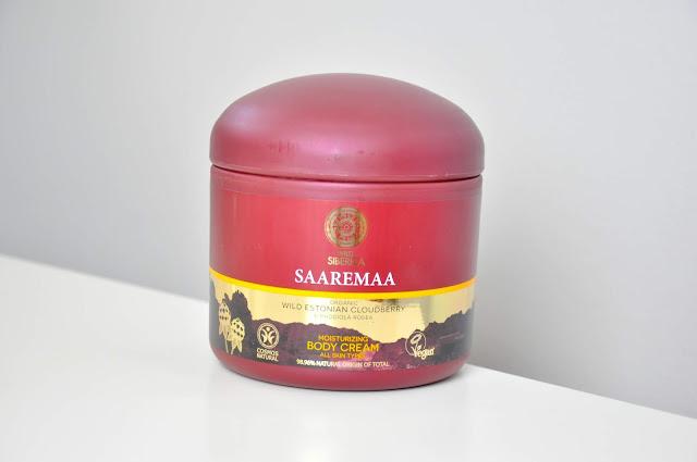balsam do ciała natura siberica wild siberica saaremaa moisturizing body cream
