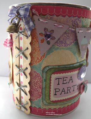 Feel Amp Felt Feliz D 237 A De La Madre Magnolia Tin Tea Party