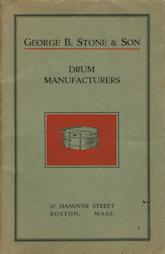 Stone Catalog I - 1919