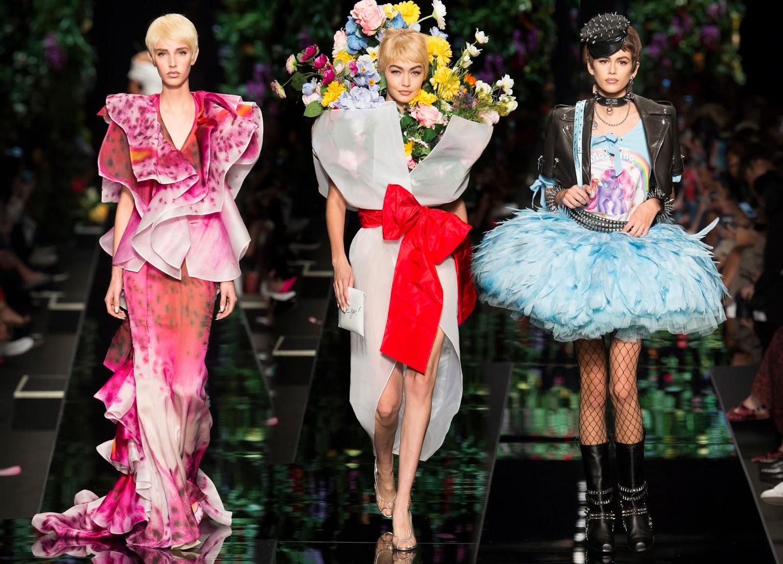 RUNWAY REPORT.....Milan Fashion Week  Moschino Spring 2018   Nick ... 7d5df002bc2e