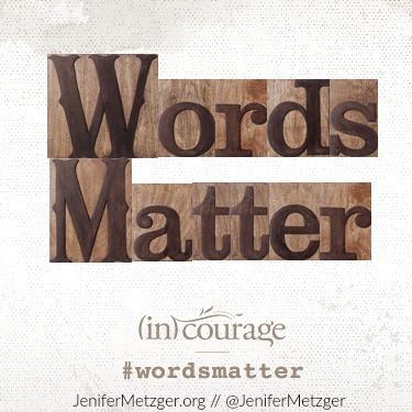 Words matter. #wordsmatter #letterpressblocks #dayspring