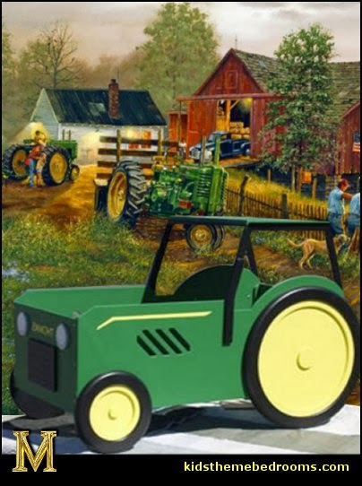 High Quality John Deere Wall Decals Bedroom Bedroom John Deere Decor John  Part 12