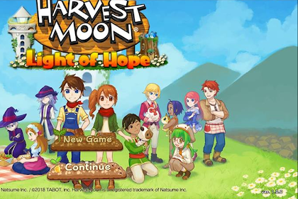Harvest Moon Light of Hope APK + OBB 1.0.0 Android