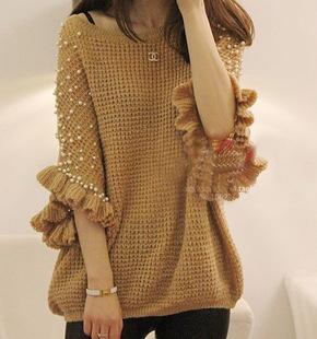 Hướng dẫn đan - móc áo len nữ đẹp 2017
