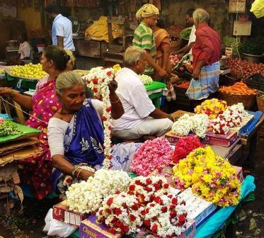 madurai marche aux fleurs