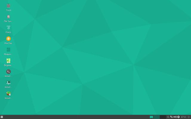 Manjaro 16.06 Xfce Desktop - First impression