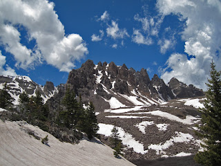 Cathedral Peak in the Elk Range of Colorado