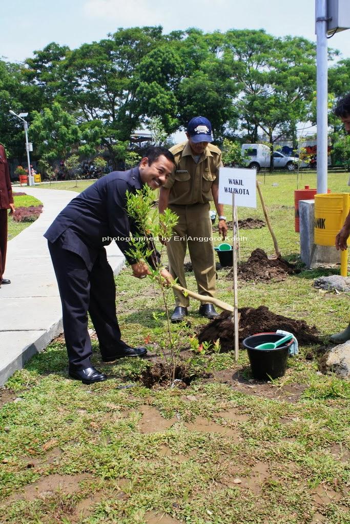Wakil Walikota Tasikmalaya Melakukan Penanaman Pohon