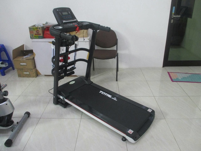 Treadmill Elektrik Multifungsi TM 607 | jual treadmill