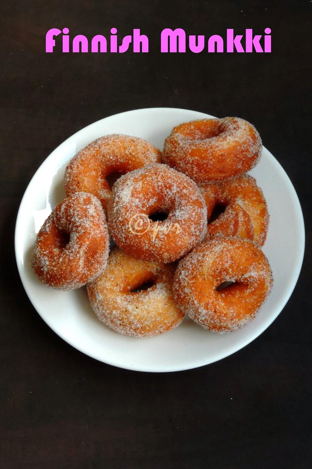 Finnish Munkki, Finnish Doughnuts