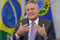 Ministro do STF afasta Renan Calheiros da presidência do Senado