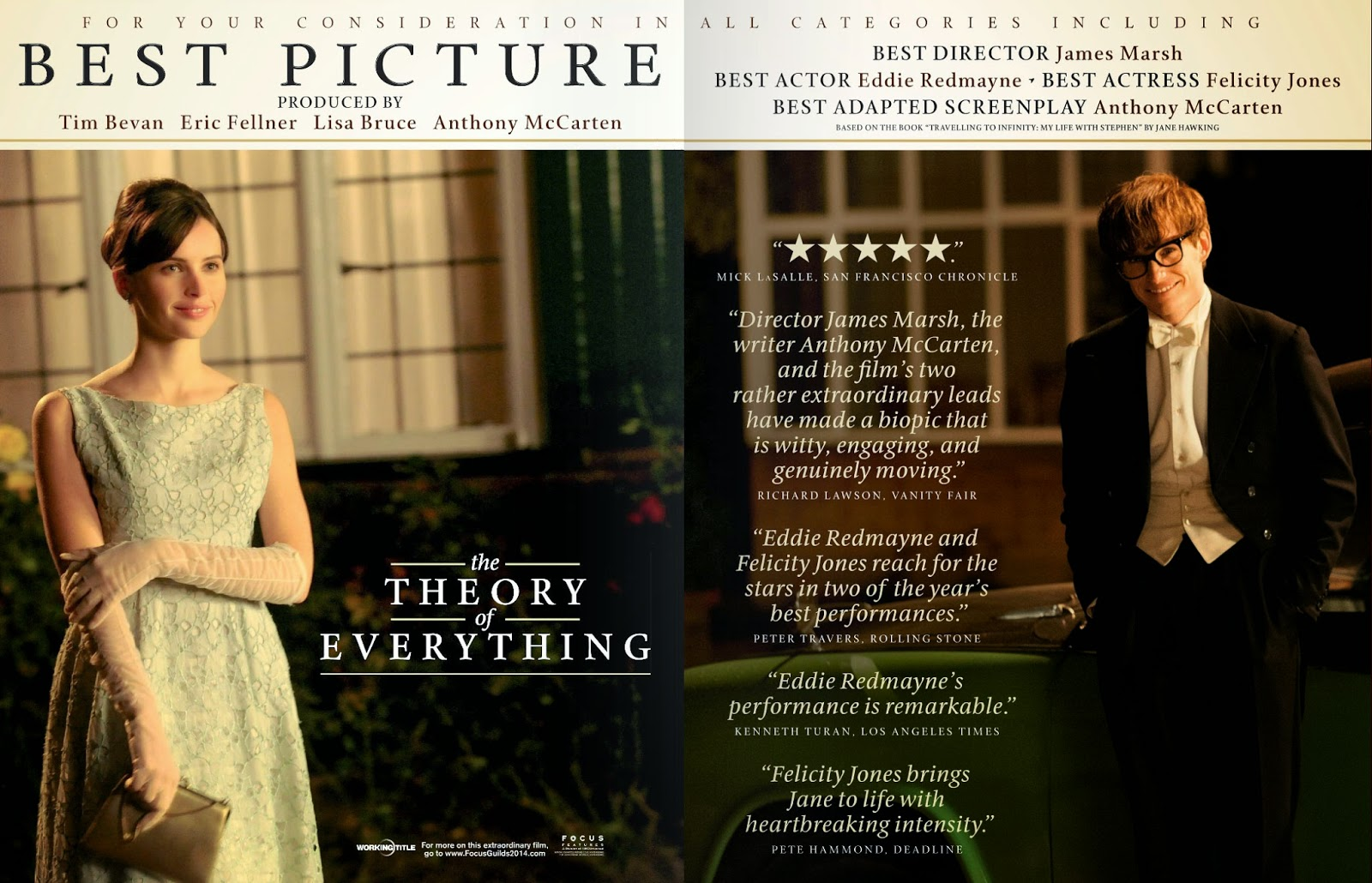Movie and TV Cast Screencaps: The Theory Of Everything ...