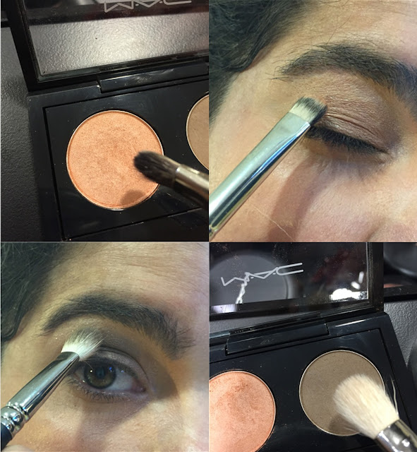 M.A.C. Technique Spring/Summer 2016 Arena and coquette Eye shadows
