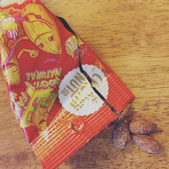 Sriracha Almonds from Crown Nut!