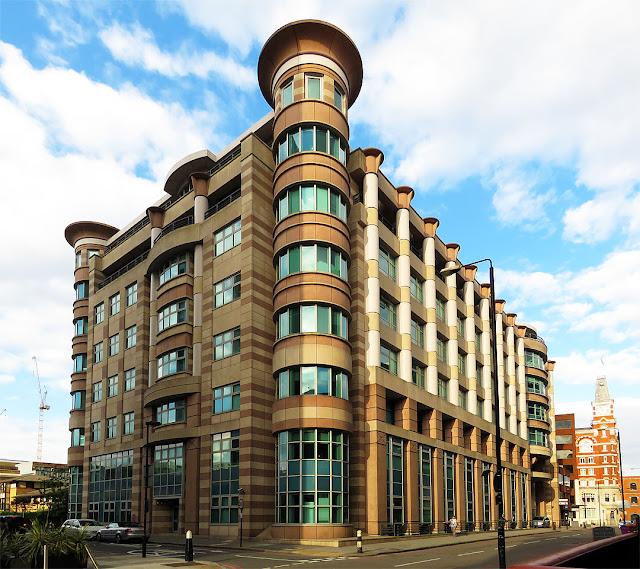 Building in Prescot Street, on the corner of St Mark Street, Aldgate, City of London, London