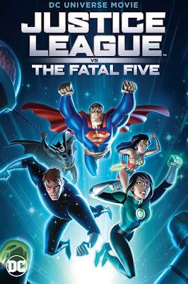 Justice League Vs The Fatal Five 2019 DVD R1 NTSC Latino