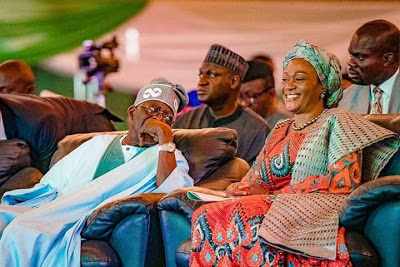 Cute Picture Of Bola Tinubu & Wife, Oluremi