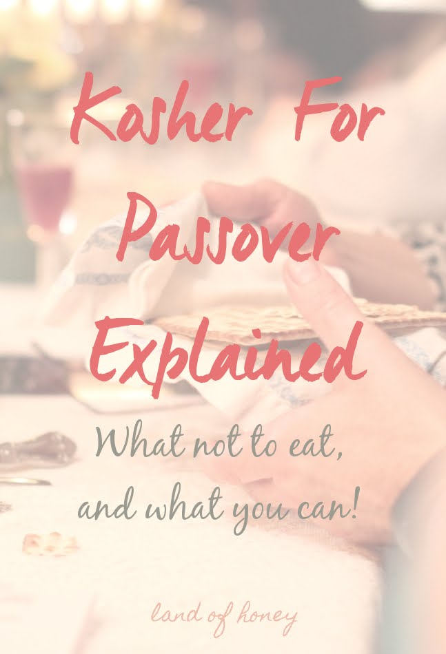 What is Kosher for Passover?