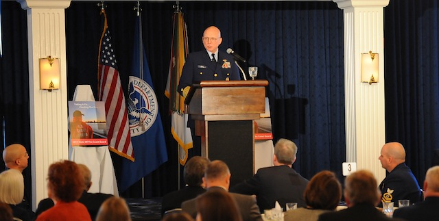 Admiral Robert Papp Delivers State of the Coast Guard Address