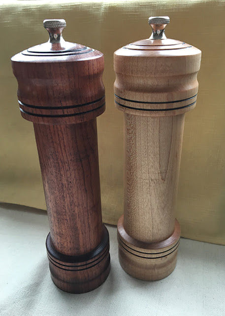 Salt & Pepper Mills by Chez Craft