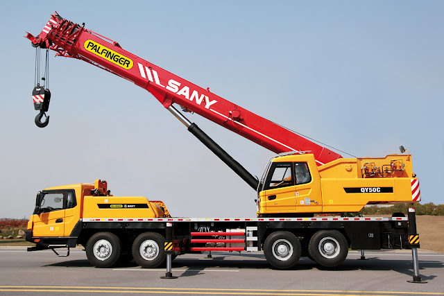 penjelasan kegunaan mobile crane