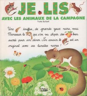 1 - Je lis avec les animaux de la campagne