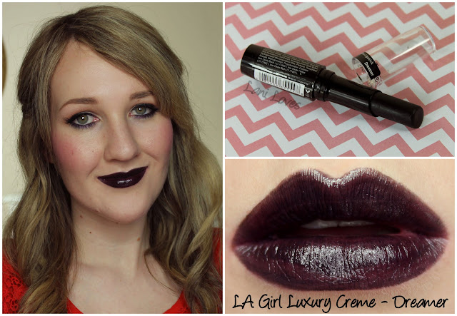 LA Girl Luxury Creme - Dreamer lipstick swatch