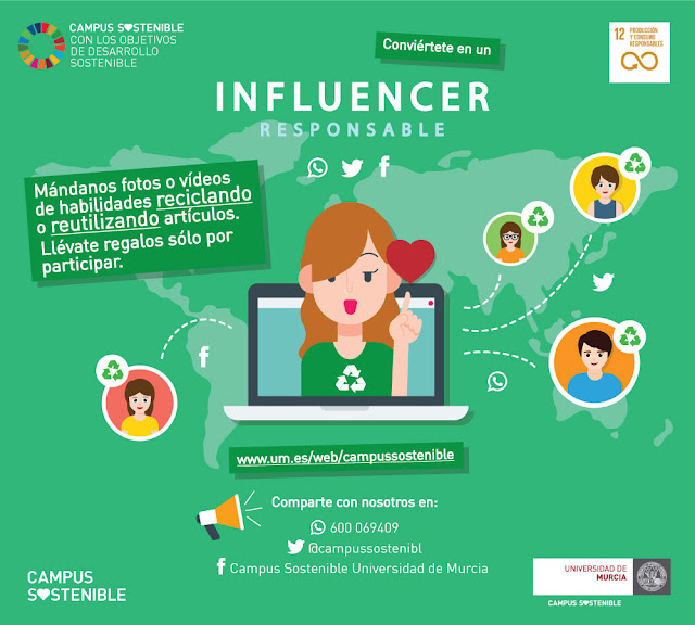 Buscan Influencers responsables.