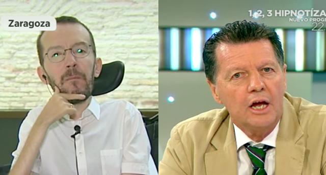 ZASCA de Pablo Echenique a Alfonso Rojo en 'Espejo Público'