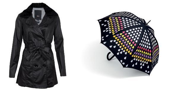 Modelos de guarda-chuva feminino
