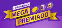 Promoção Mega Premiado com Sabrina e Rodrigo Faro megapremiado.com.br