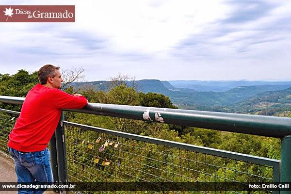 Contemplando o Vale do Quilombo - Gramado/RS