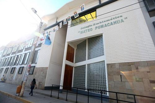 Colegio MATEO PUMACAHUA - Sicuani