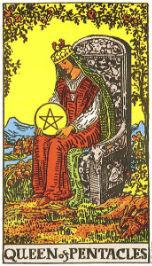 Queen of Pentacles in Love and Relationships - Priania