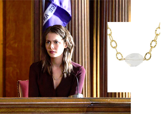 Thea Queen jewelry on Arrow