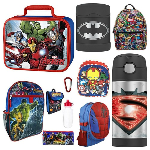 super hero school supplies