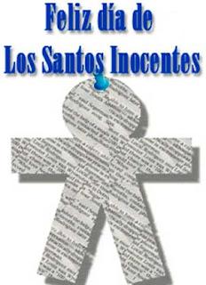 Bromas Día de los Santos Inocentes