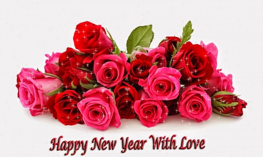 Happy New Year 2019 Red Rose Pictures for Girlfriend 3D