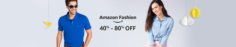 Flat 80% off on Amazon in Fashion Clothing (Starting At just Rs 59)